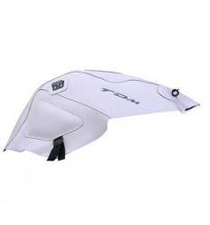 Copriserbatoio Bagster per Yamaha TDM 900 02-13 in similpelle bianco