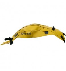 Copriserbatoio Bagster per Yamaha MT01 05-11 in similpelle giallo surf