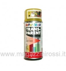 Vernice spray Dupli Color trasparente giallo