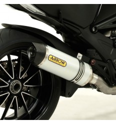 Terminale Arrow Street Thunder Alluminium per Ducati Diavel, Multistrada e Monster 1200
