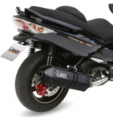 Scarico Mivv Speed Edge Black per Kymco Xciting 500