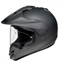 Casco Shoei enduro Hornet DS monocolore antracite opaco