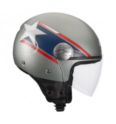 Casco Givi 10.7 MINI-J grafica Star US