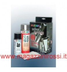 Set Dupli Color Silver Chrome effetto cromo