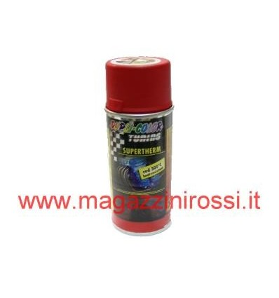 Vernice spray Dupli Color termica rossa