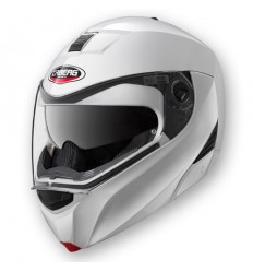 Casco Caberg Modus apribile predisposto Bluetooth bianco metal