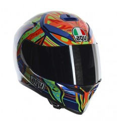 Casco AGV K-3 SV serie Top grafica Valentino Rossi Five Continents