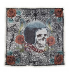 Bandana Rude Riders stampa Born to Ride