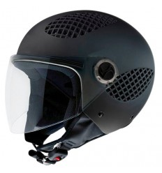 Casco NZI B-Cool super aerato nero opaco