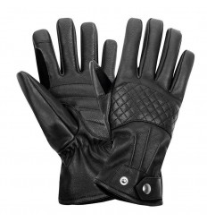Guanti da moto Belstaff The Esses Gloves in pelle nera
