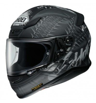 Casco Shoei NXR grafica Seduction TC5 nero opaco