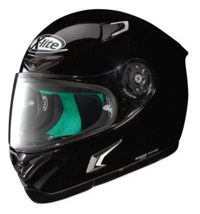 Casco X-Lite X802RR Start monocolore nero lucido
