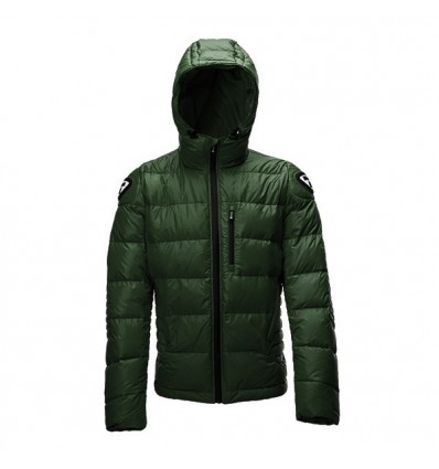 Piumino da moto Blauer Easy Winter Man verde