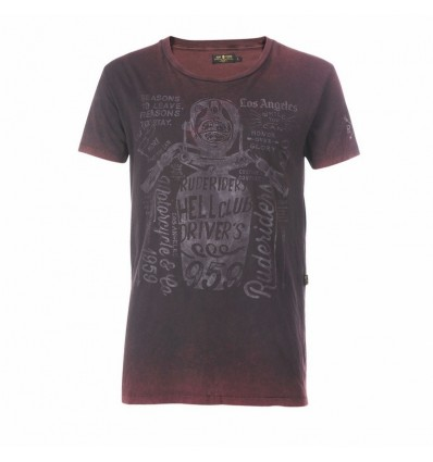 T-Shirt Rude Riders da uomo Reasons to Live con stampa