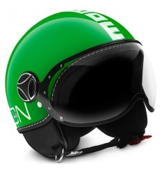 Casco Momo Design Fighter Classic verde Italia e bianco