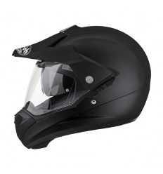 Casco Airoh enduro S5 grafica Color nero