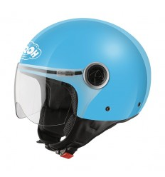 Casco Junior Jet Airoh Free Sir blue gloss