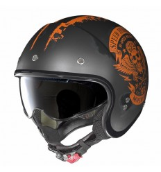 Casco Nolan N21 Speed Junkies flat asphalt black