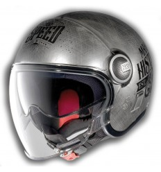 Casco Nolan N21 Visor Moto GP Legends chrome