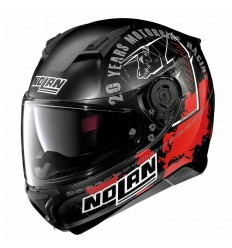 Casco Nolan N87 Iconic Replica N-COM flat black