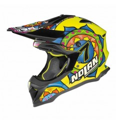 Casco off-road Nolan N53 Practice Replica C. Davis Sepang led yellow