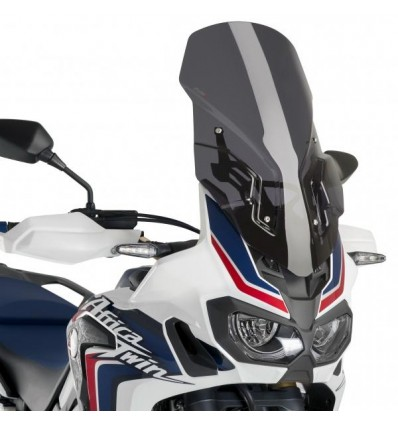 Cupolino Puig Touring fume per Honda CRF 1000L Africa Twin