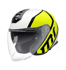 Casco Jet Schuberth M1 grafica Flux Yellow