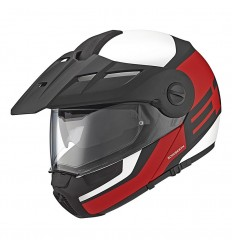 Casco apribile Schuberth E1 Guardian Red
