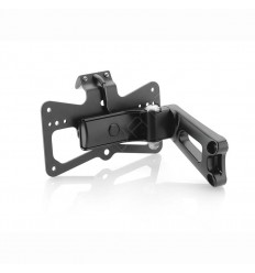 Portatarga regolabile Rizoma Outside per BMW R-Nine nero