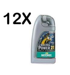 Olio 2T Motorex Racing Power cartone 12x1 lt
