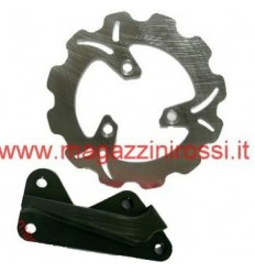 Kit disco freno Wave magg. 190mm nero Honda Dio ZX-GP-SC-Z4