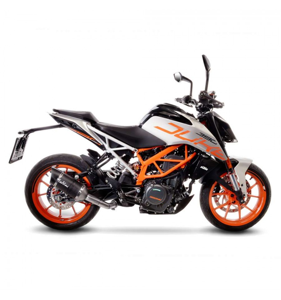 terminale leovince lv pro carbon per ktm rc 125 390 e duke 125 390 2017 magazzini rossi. Black Bedroom Furniture Sets. Home Design Ideas