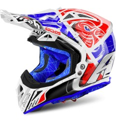 Casco Airoh enduro Aviator 2.2 grafica Six Days 2018 Red Gloss