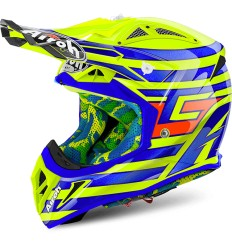 Casco Airoh enduro Aviator 2.2 grafica Cairoli Qatar Yellow Gloss