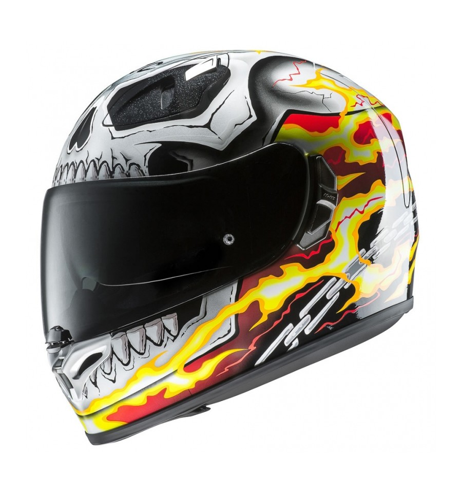 casco integrale hjc fg st ghost rider magazzini rossi. Black Bedroom Furniture Sets. Home Design Ideas