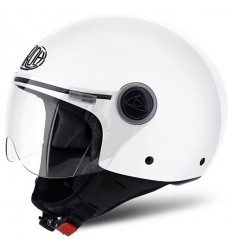 Casco Airoh Compact Pro Color bianco lucido