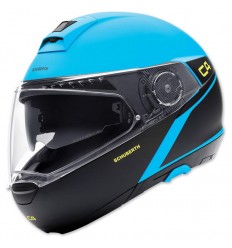 Casco apribile Schuberth C4 grafica Spark Blue