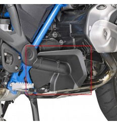 Parapiedi in ABS Givi per BMW R1200 GS dal 2013 e R1250 GS