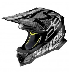 Casco off-road Nolan N53 Whoop flat black