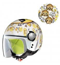 Casco da bambino Grex G1 grafica Fancy25 Wise Monkey