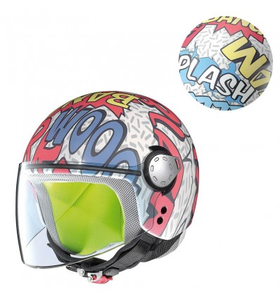 Casco da bambino Grex G1 grafica Fancy9 Comic