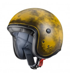 Casco Caberg Freeride Yellow Brushed superleggero giallo