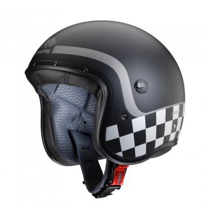 Casco Caberg Freeride Formula superleggero nero, antracite e argento