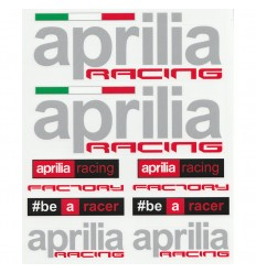 Set adesivi 20x24 cm Aprilia Racing