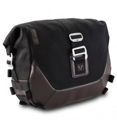 Borsa laterale SW-Motech Legend Gear LC1 da 9,8 lt in tessuto e pelle marrone