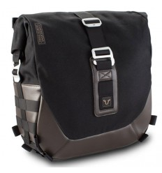 Borsa laterale SW-Motech Legend da 13,5 lt in tessuto e pelle marrone