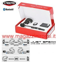 Bluetooth kit Caberg Just Speak solo per caschi Konda, Justissimo e Downtown S