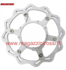 Disco freno Wave a margherita Braking per Yamaha X Max 125-250, X City 250 solo posteriore