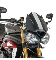 Cupolino Puig Naked per Triumph Speed e Street Triple carbonio