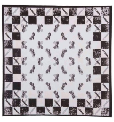 Foulard Helstons stampato grafica Motorcycle